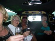 80th birthday party limo ride