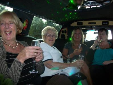 Birthday party limo hire for all agaes with Bliss Limousine Hire Middlesbrough