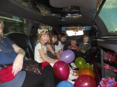 Middlesbrough party limo hire