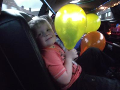 Childrens parties. Bliss Limousine Hire versus Soft Play Middlesbrough