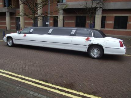 party limo hire in Middlesbrough
