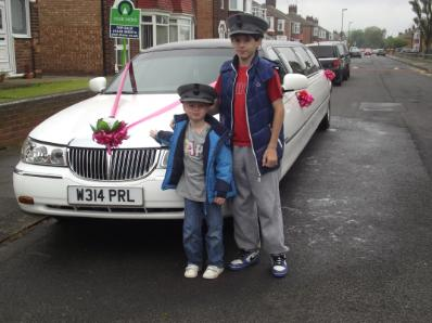 Hire a Bliss Limousine instead of soft play for childrens birthdays