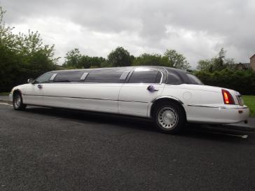 8 seat Christmas party limo hire Middlesbrough