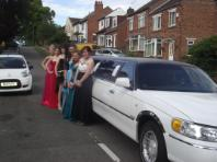 Kids party limo hire Middlesbrough Cleveland