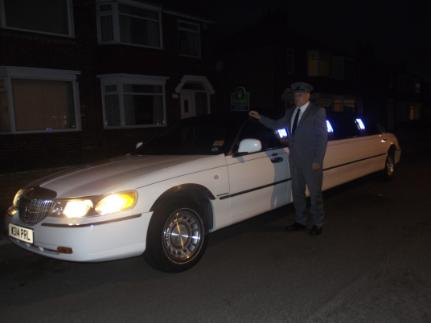 Chauffeur driven limo's in Middlesbrough by Bliss Limousine Hire