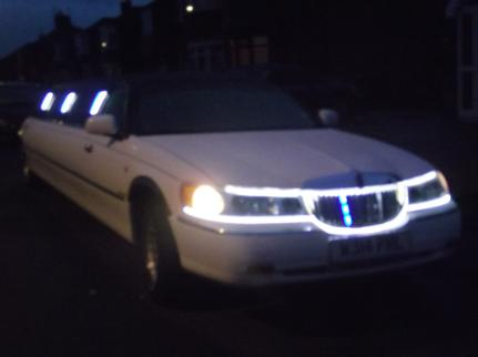 Hire a limo for your Christmas party, Bliss Limousine Hire Middlesbrough.