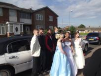Limo's Middlesbrough. Wedding car hire Redcar.