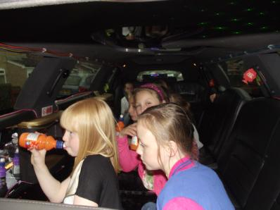 Soft play versus Bliss Limousine Hire for childrens parties