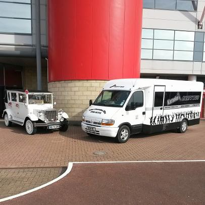 party bus hire Durham, Middlesbrough and the north east