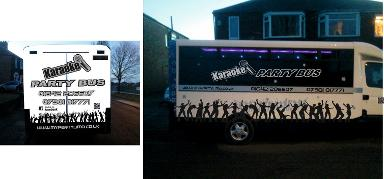 Northumberland party bus hire